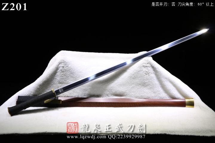 手锻光复级铜装楚风六面汉剑
