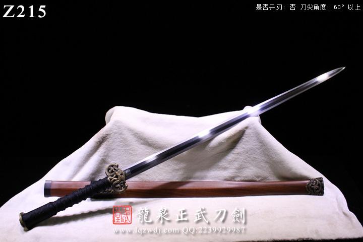 手锻超级光复级蚁木鞘櫑具装八面汉剑