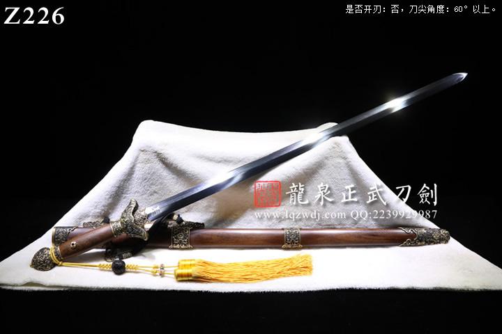龙泉正武堂三枚地肌陈正雷太极剑